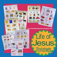 http://kidsbibledebjackson.blogspot.com/2013/04/life-of-jesus-worksheets.html