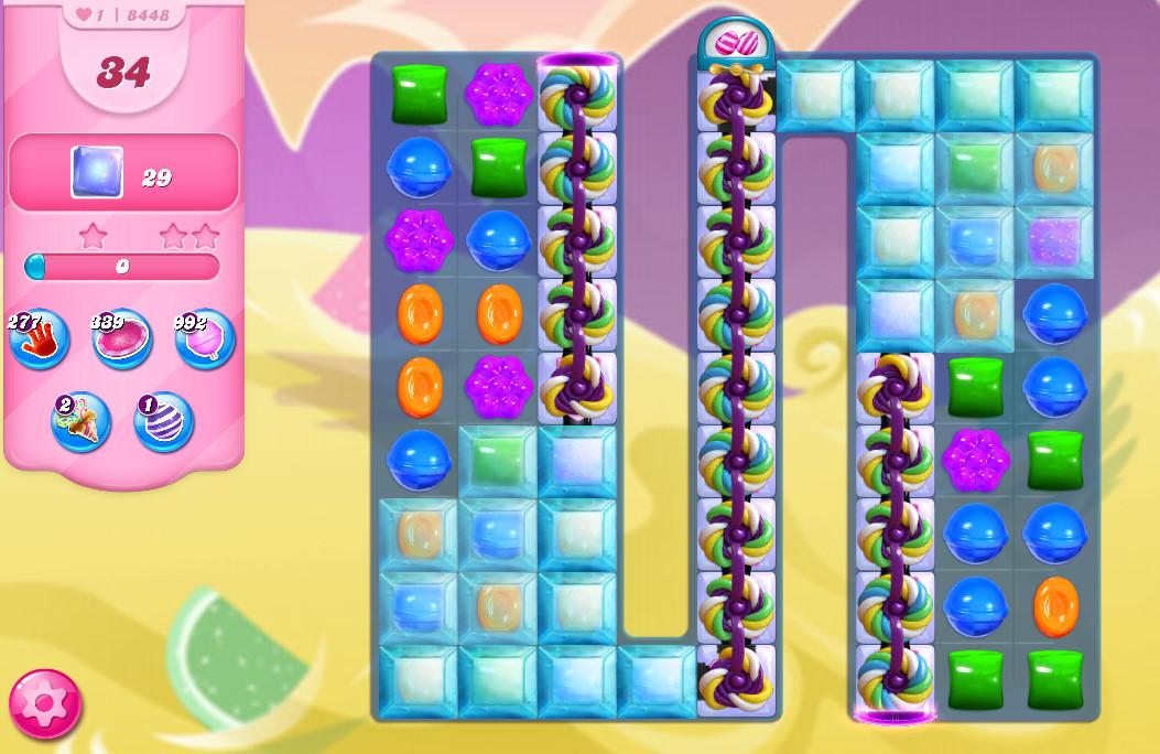Candy Crush Saga level 8448