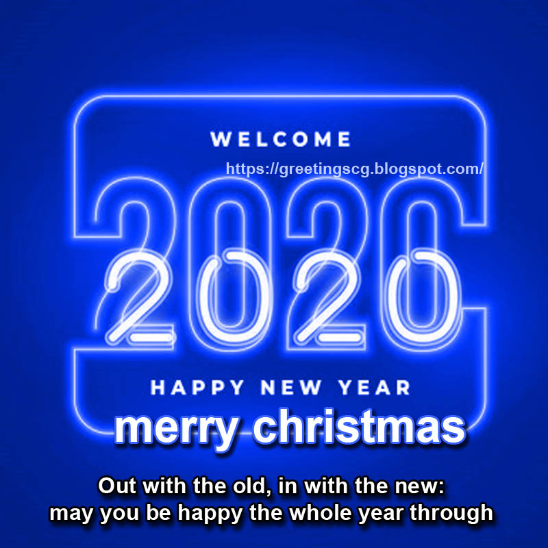 Happy New Year Wishes Greetings 2019 2020 Greetingscg