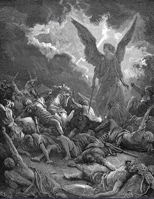 Temos a primeira invasão de Judá por Senaqueribe aqui, 18:13-16. Quanto à cronologia podemos observar o versículo 1°.  Senaqueribe era o finto de Sargão II, que reinou de 705-681 a.C.  Nos versículos 13-16 resumem se sua primeira campanha de guerra  em Judá, em 701 A.C.  ( E 17 e segs, Referem-se a uma campanha posterior, cerca de 688).
