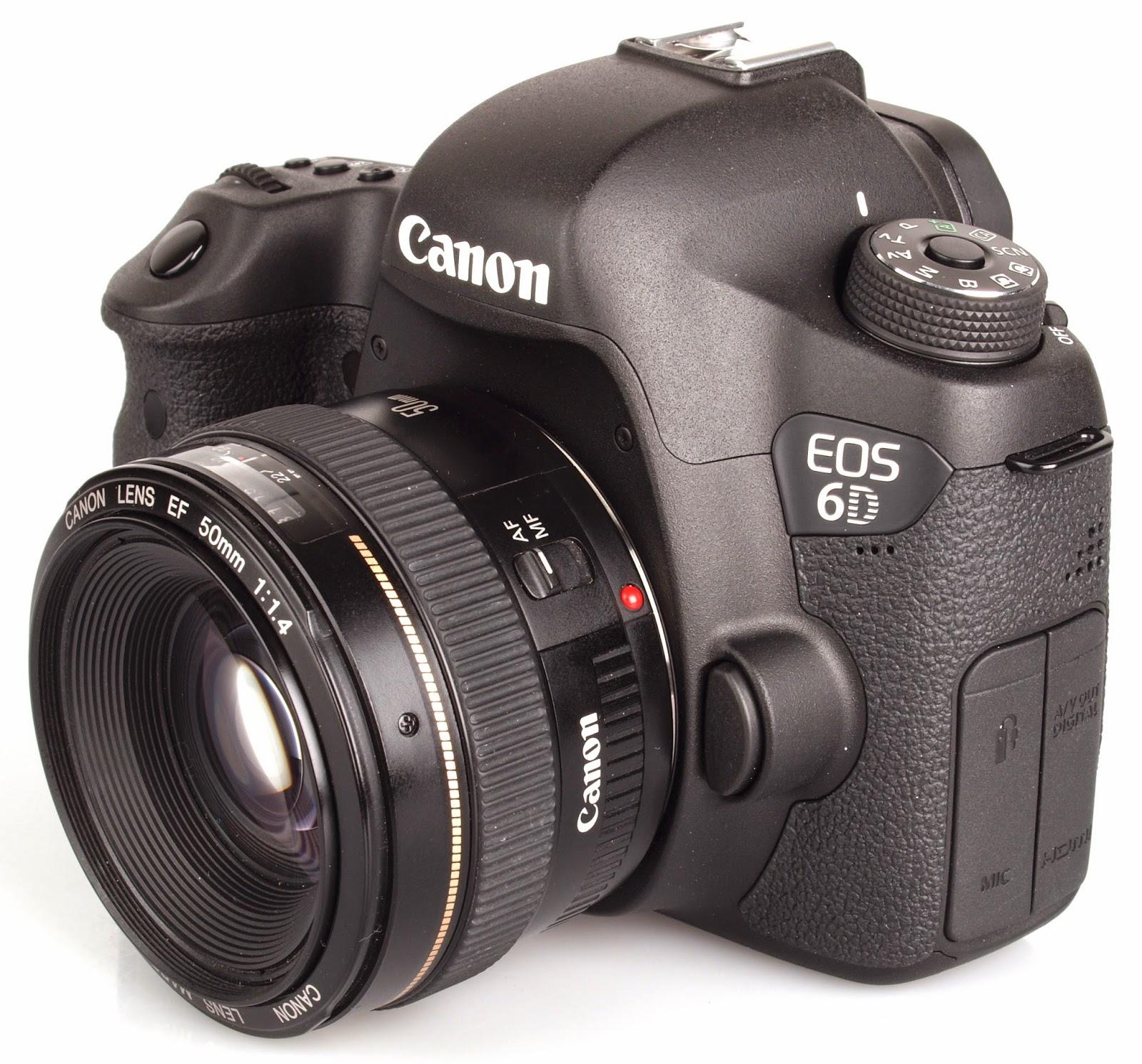 Canon EOS 6D: Kamera Full Frame Dengan Harga Terjangkau