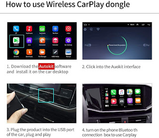 Carlinkit Wireless CarPlay Dongle Wired Android