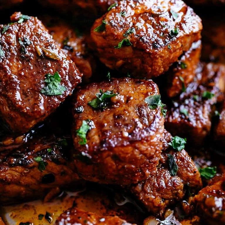 Cajun Butter Steak Bites #dinner #familyfavorite