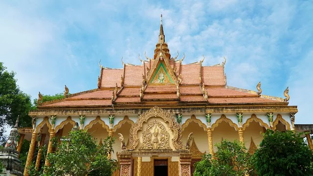 Khmer temple is over 140 years old in An Giang