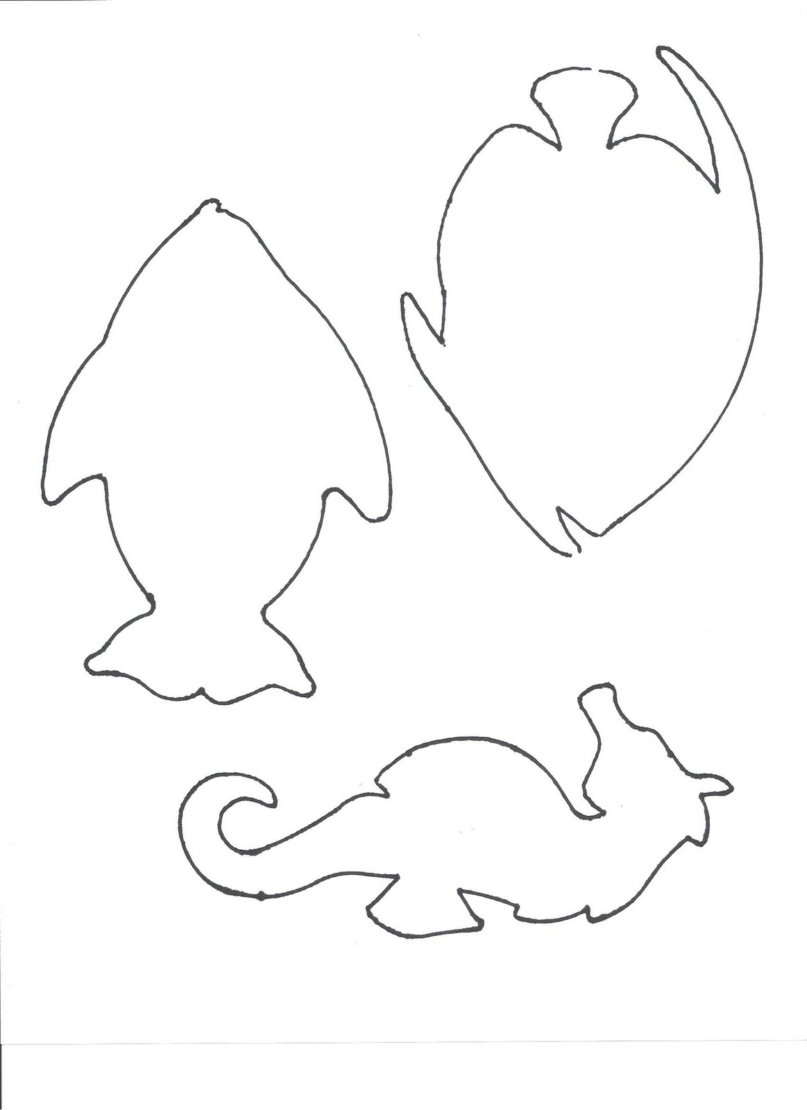 elephant template for preschool - crafts for preschoolers templates