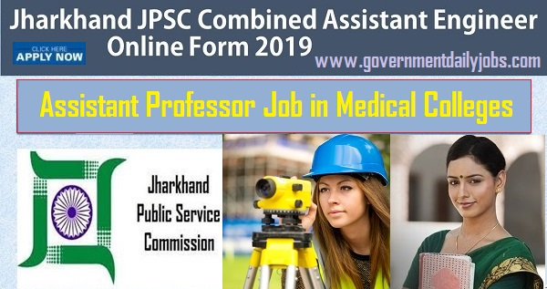 JPSC AE Civil & Mechanical branch and Assistant Professor in various medical subjects