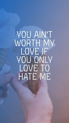 Pictures Quotes BLACKPINK - Love To Hate Me | Mobile Wallpaper HD