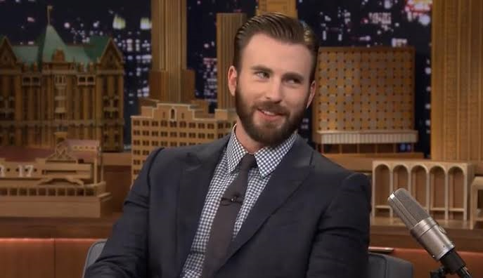 Chris Evans/NBC/The Tonight Show com Jimmy Fallon