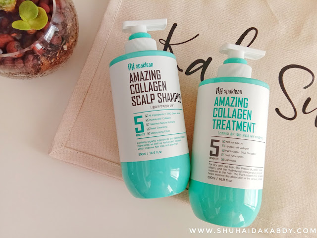 Spaklean Amazing Collagen Scalp Shampoo