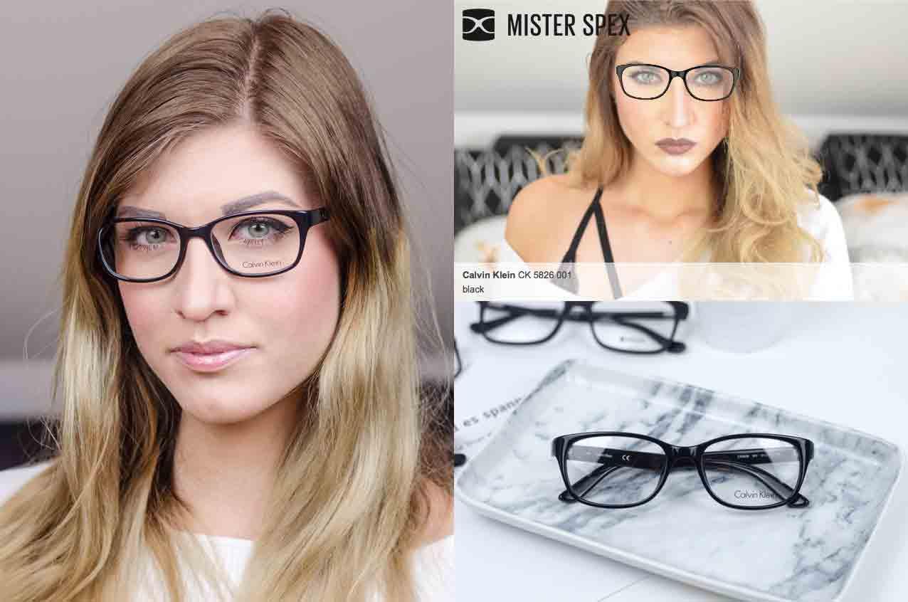 neue Brille ganz einfach mit Mister Spex CK 5826 001