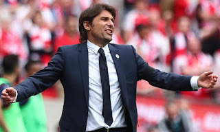 Sport: Champions League -  Conte speaks on potentially playing PSG or Barcelona in Round of 16