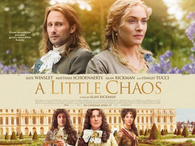 A Little Chaos, Un pequeño caos, Alan Rickman