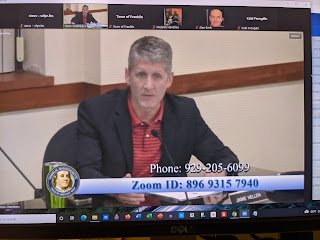 Questions on housing being answered by Town Administrator Jamie Hellen