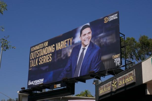 Trevor Noah 2019 Emmy nominee billboard