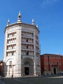 Parma's baptistry