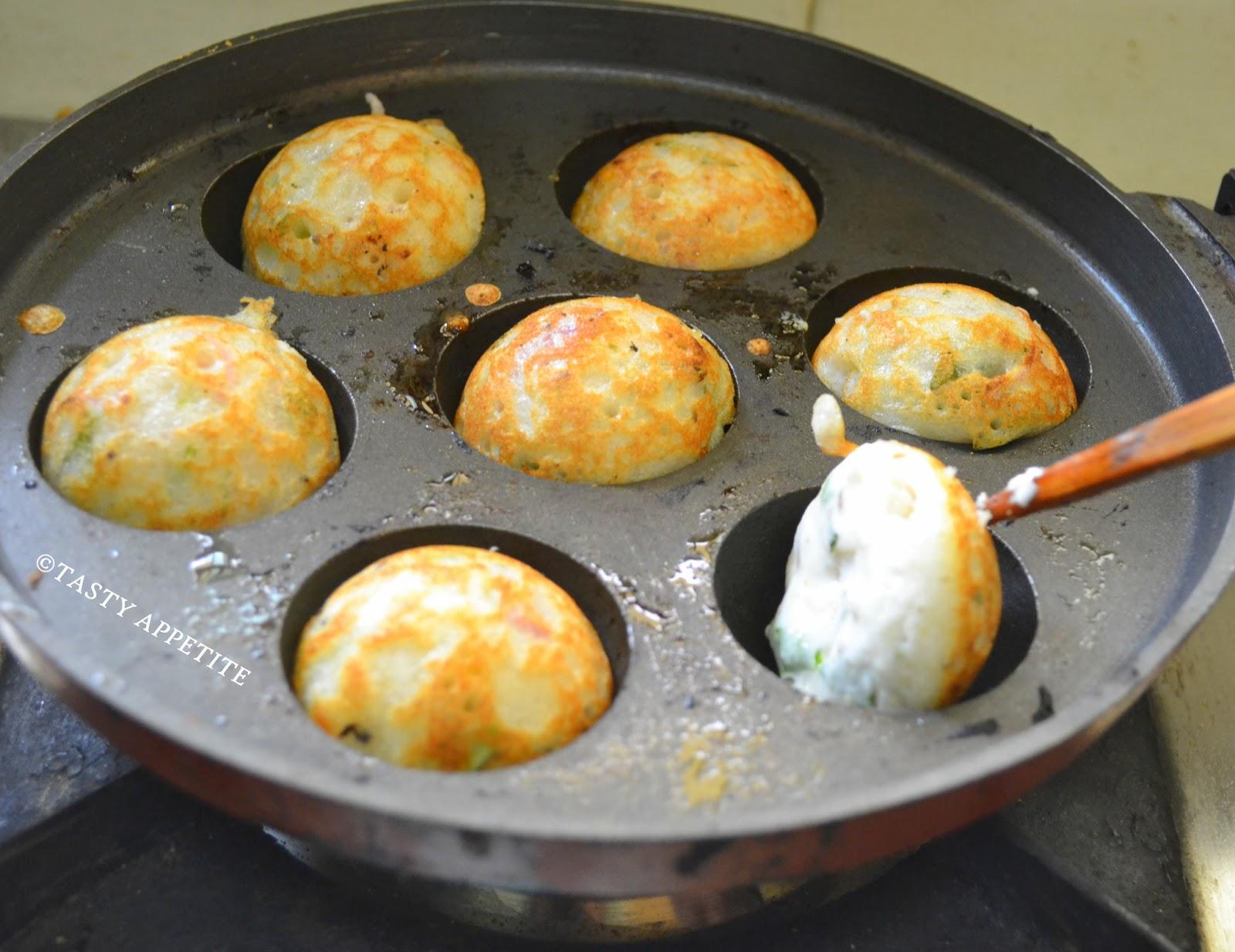 How to make kuli paniyaram sweet in tamil