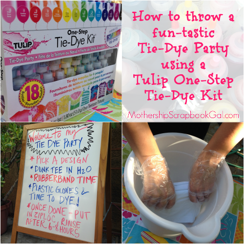 ac3676d6ac25 iLoveToCreate Blog  How To Throw A Funtastic Tie Dye Party!