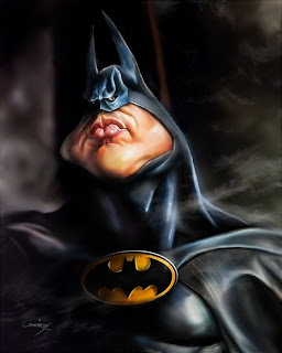 Caricatura de batman