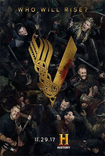 Vikings Temporada 5 HD 720p Latino Dual