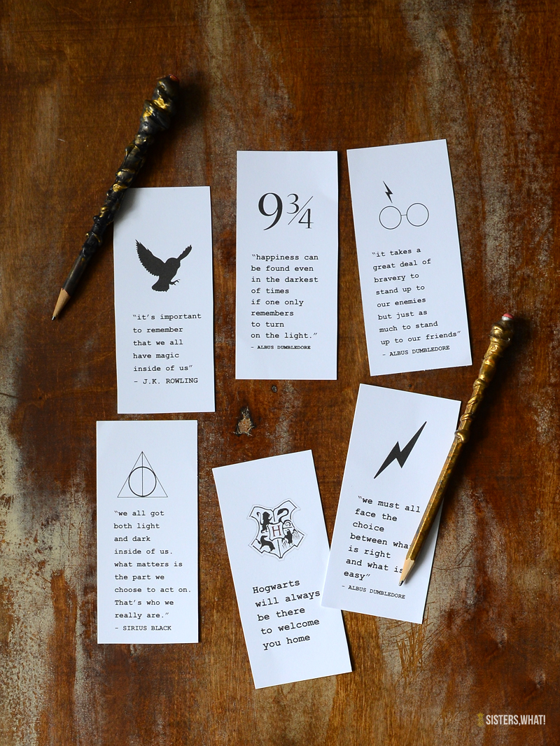 Harry Potter Printable Bookmark
