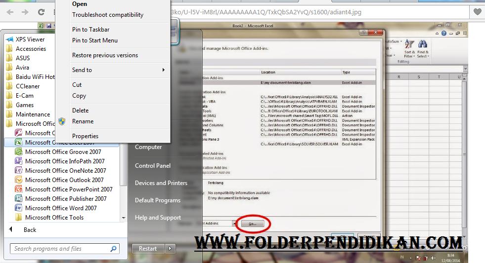 Download Terbilang Otomatis Ms.Excel
