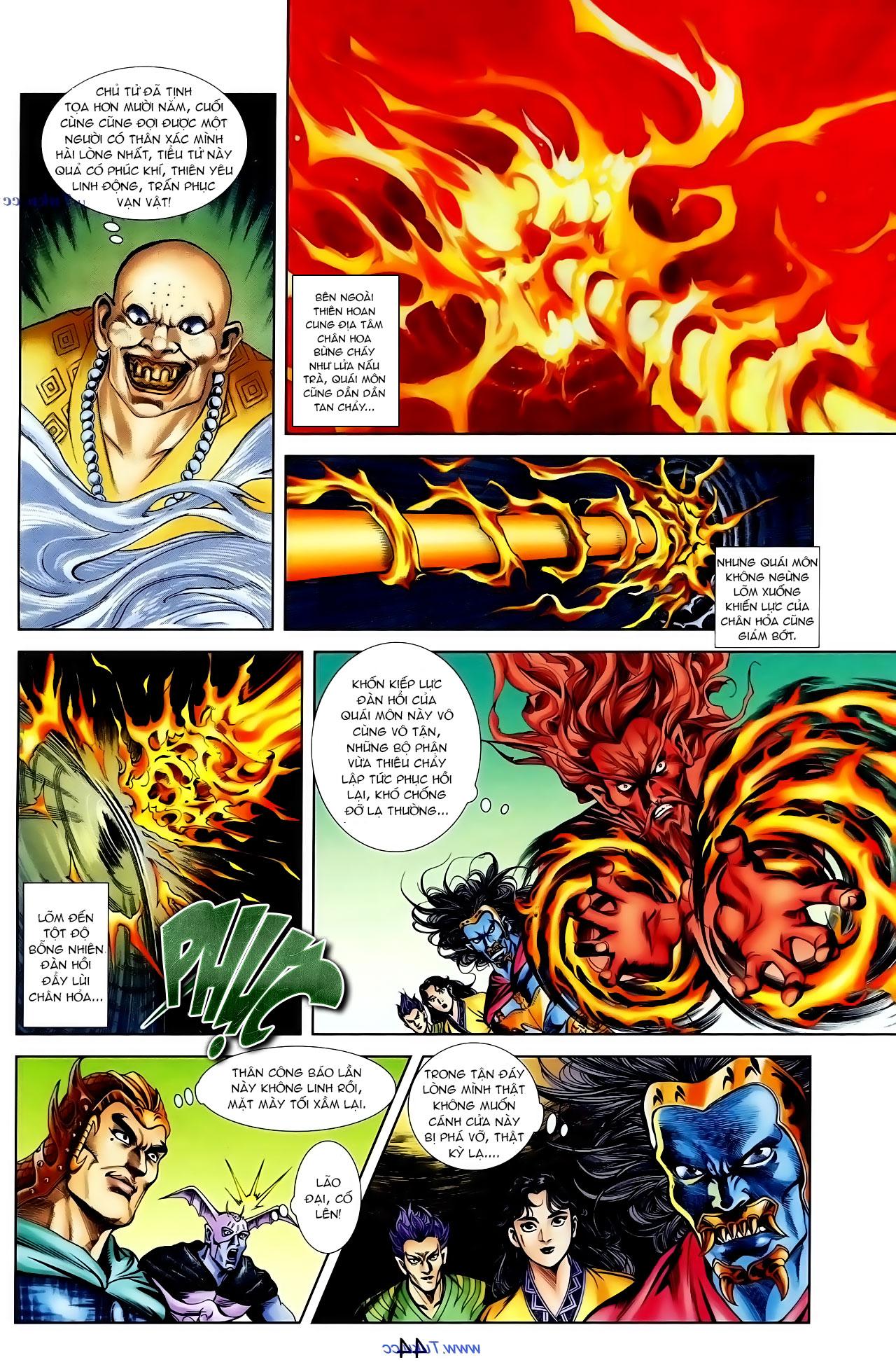 Cơ Phát Khai Chu Bản chapter 100 trang 11