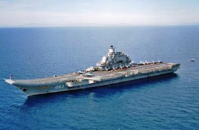 Kelas Admiral Kuznetsov (Rusia) - 305 meter