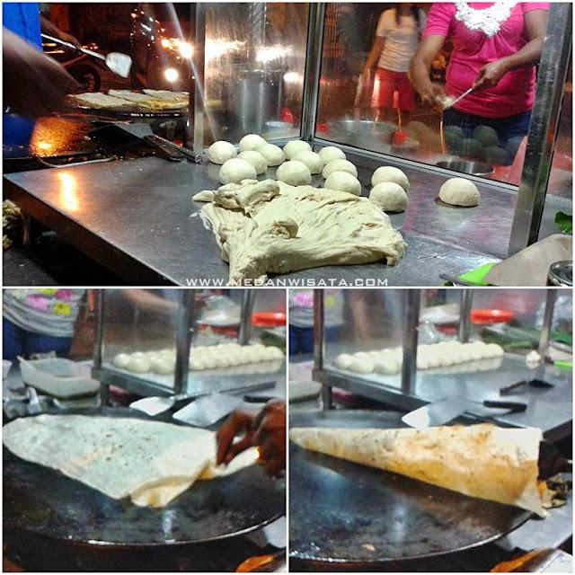 Roti Tissue Martabak Saren Medan
