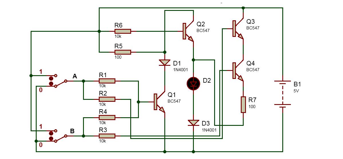 logic gates using transistors pdf