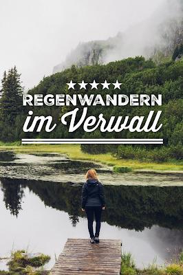 Wanderung zum Wiegensee ein echter Geheimtipp bei Regenwetter! Super Schlechtwetter Wanderung an der Grenze zwischen Vorarlberg und Tirol. Wandern Montafon Verwall 20