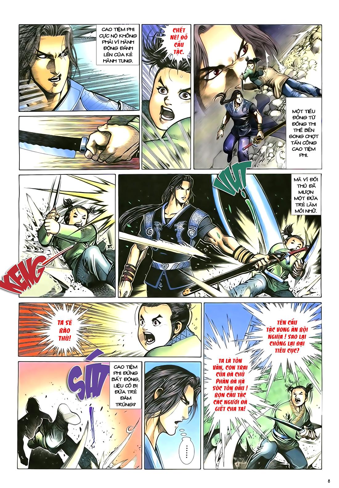 Anh hùng vô lệ Chap 18 trang 9
