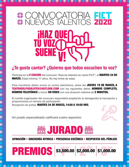 concurso de canto feria texcoco 2020