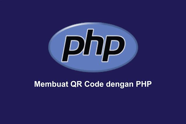 Membuat QR Code dengan PHP
