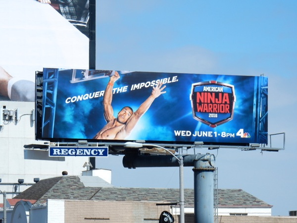American Ninja Warrior 2016 season 8 billboard