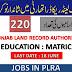 Punjab Land Record Authority Latest Jobs 2020