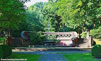 Cordes Brunnen Friedhof Ohlsdorf