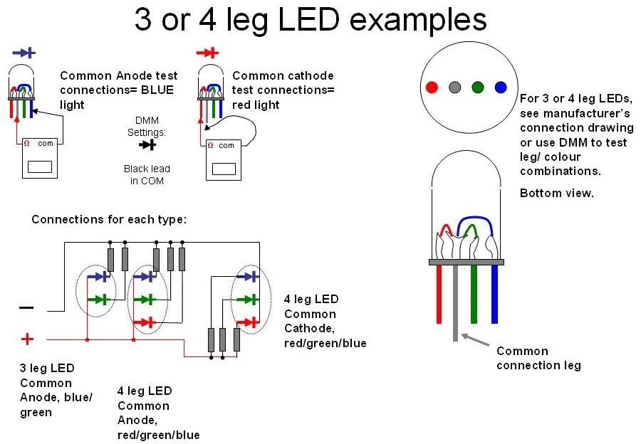 4 leg led wiring diagram  subaru legacy wiring diagrams