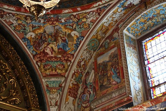 Frescos de la capilla de santuario de Las Virtudes