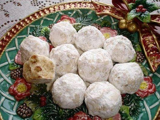 Snowball biscuits