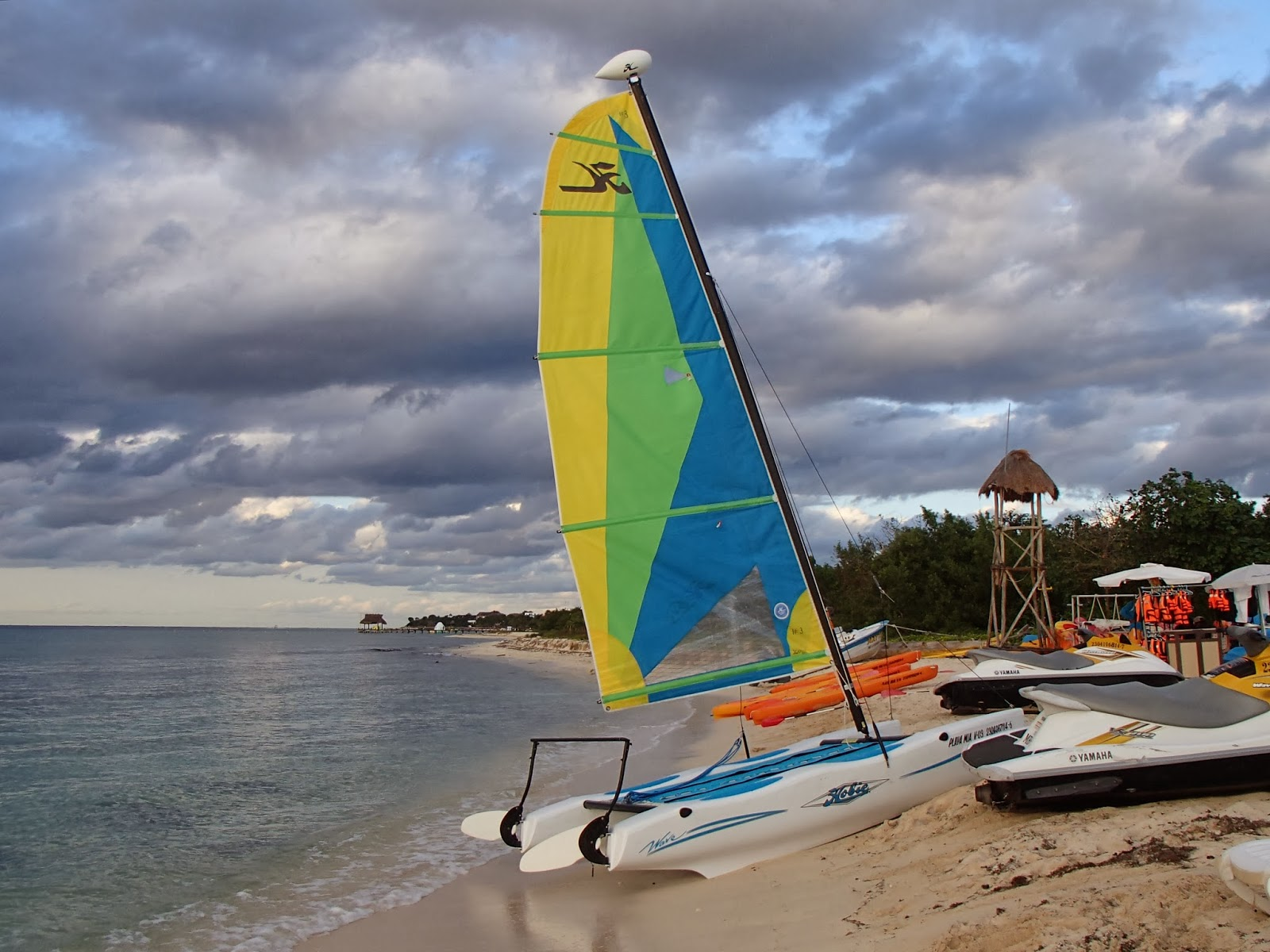 Playa Mia sailboat