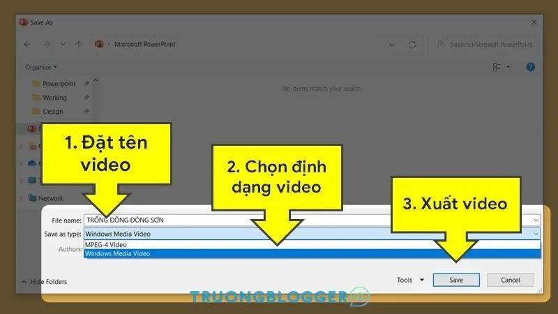 Chuyển slide trình chiếu PowerPoint thành video nhanh chóng