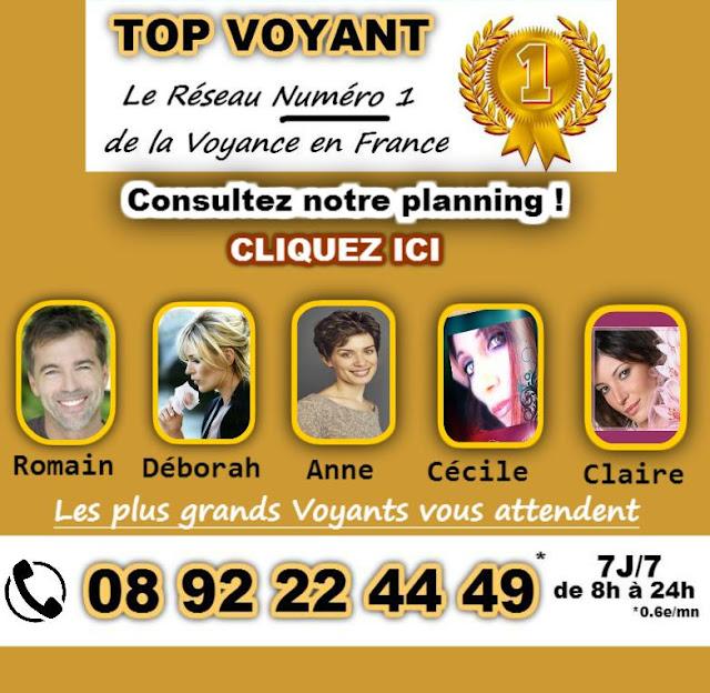 Romain de Top Voyant  au 08 92 22 44 49*