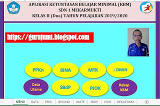 Aplikasi KKM Kurikulum 2013 Kelas 2 SD TP 2019/2020 - http://www.librarypendidikan.com/