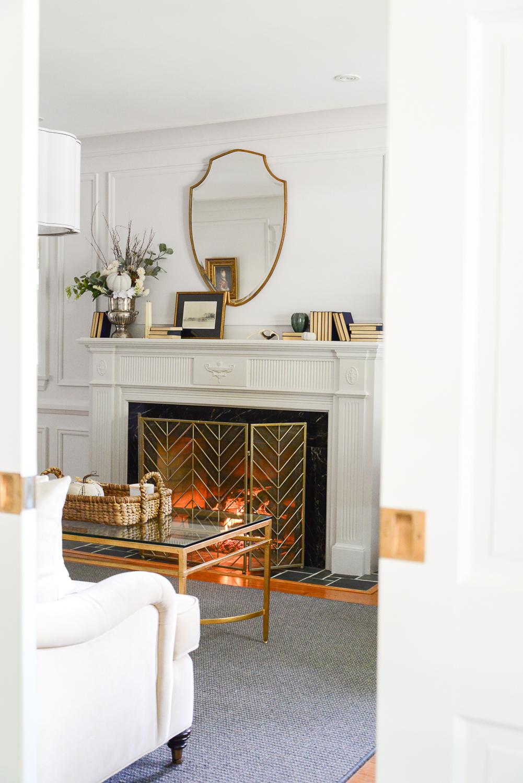 Fall Mantel Decor With Traditional Style   Rambling Renovators