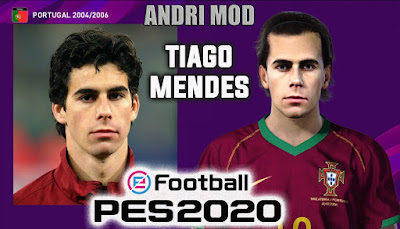 PES 2020 Faces Tiago Mendes by Andri Mod