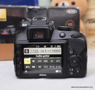 Jual Kamera Nikon D3400 Bekas Banyuwangi
