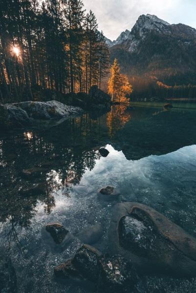paysage d'automne, nature