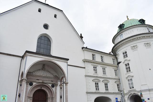 Iglesia de la Corte en Innsbruck, Austria