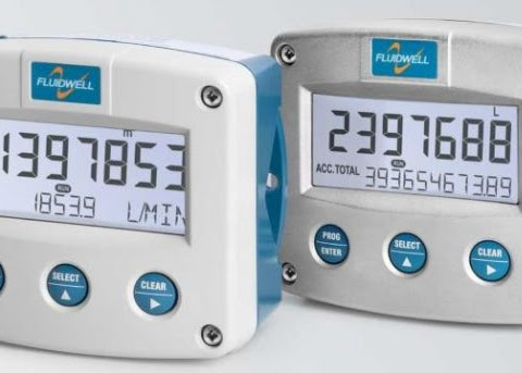 Fluidwell F113 Flow rate Monitor / Totalizer