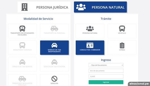 ATU: tramite de credencial para taxistas